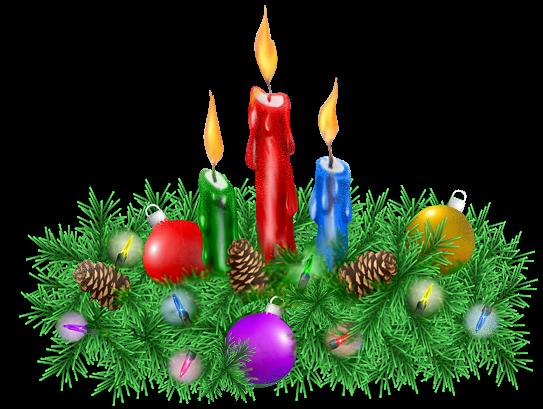 """décorations de Noël """"bougies"""""""