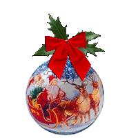 kelkes boules de Noël