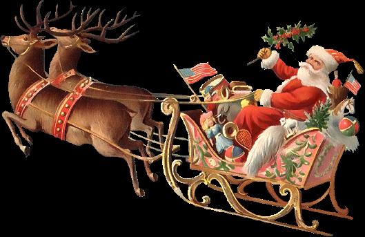 La nuit avant Noël...Poème de Noël de Clément Moore
